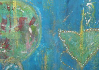 Malerei von Claudia Stötzel-Daniel | Yoga me Chiemsee in Prien